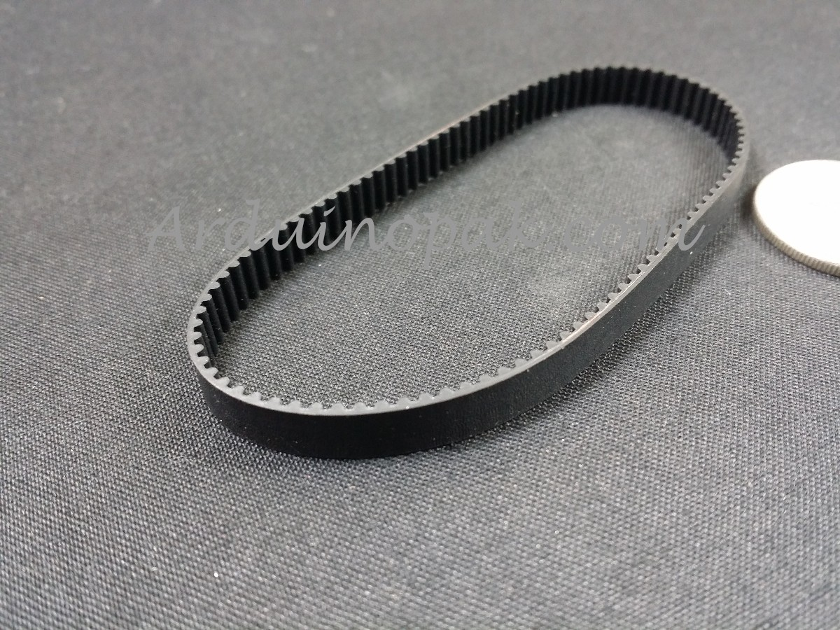 200mm Timing Belt Closed Loop Rubber For 2GT 6mm 3