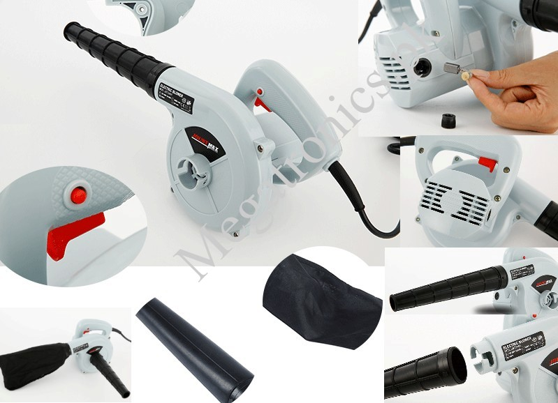 220V 500W Electric Air Blower Sucction for Cleanin