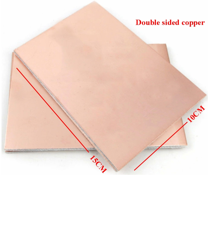 10x15cm double Sided PCB Copper Clad Laminate Boar
