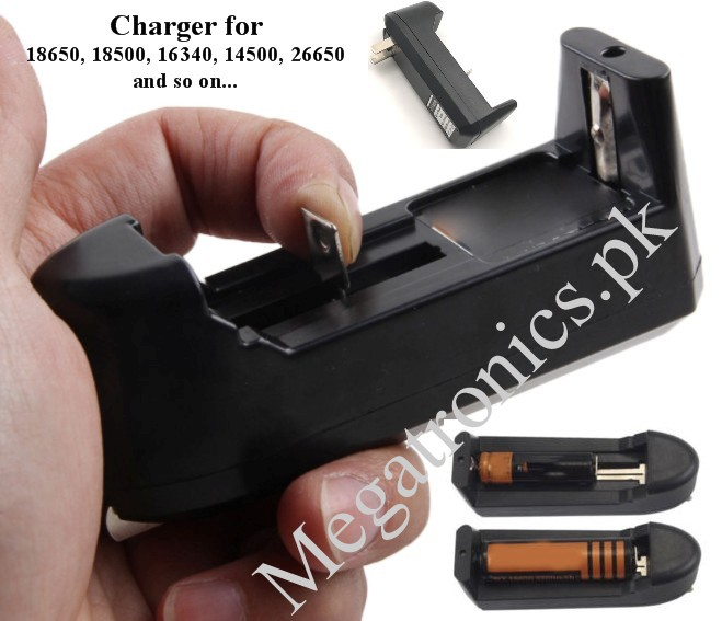 3.7V Universal Charger Li-ion Battery 18650-16340