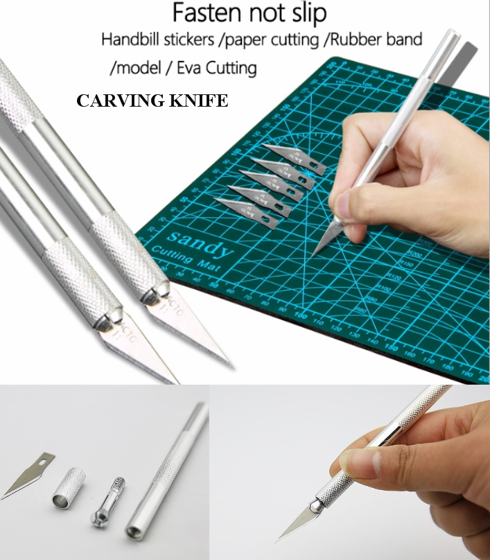 Model making tool metal carving knife pen knife cu