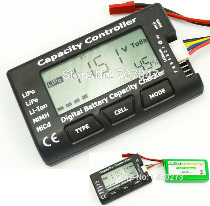 Battery Meter Checker Tester CellMeter-7 Capacity