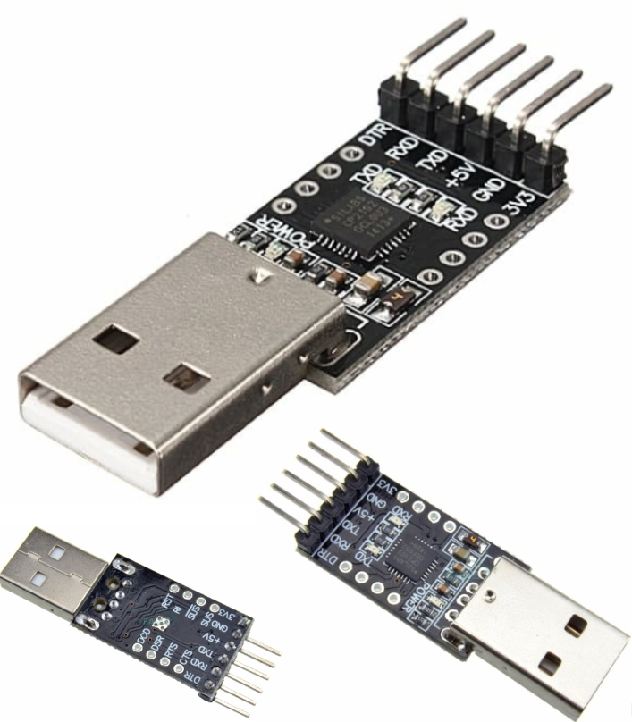 CP2102 USB 2.0 to TTL UART Module 6Pin Serial Conv