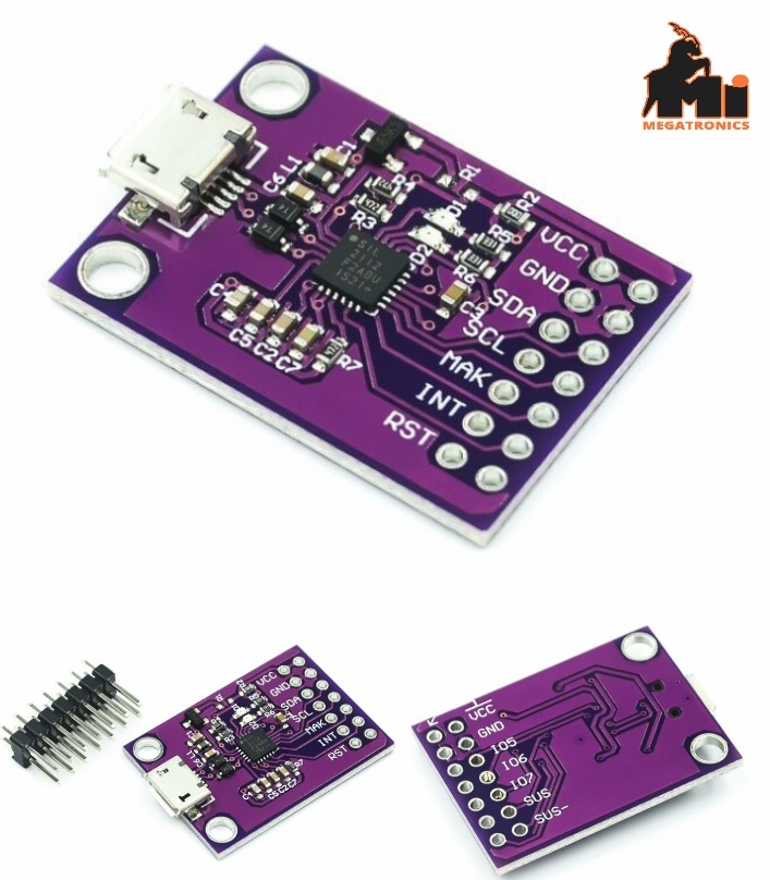 CP2112 debugger board USB to I2C communication mod
