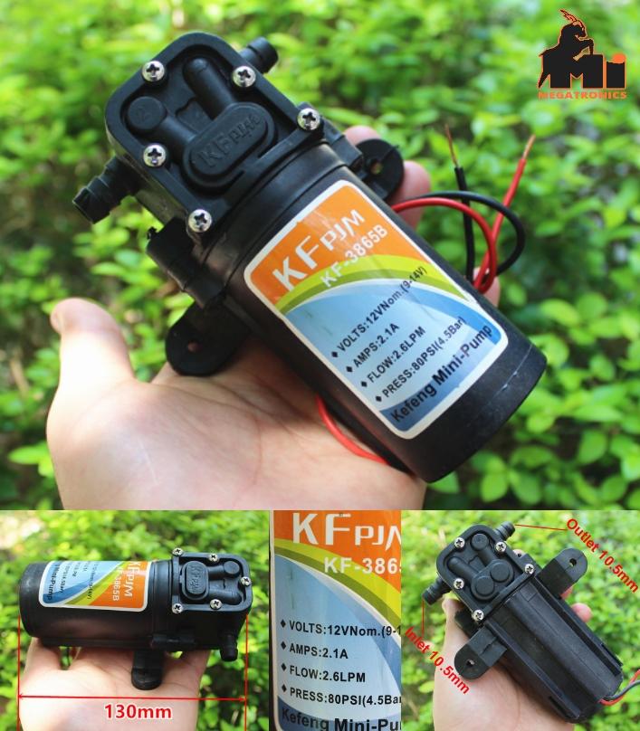 12V high pressure booster pump 775 motor ultra hig
