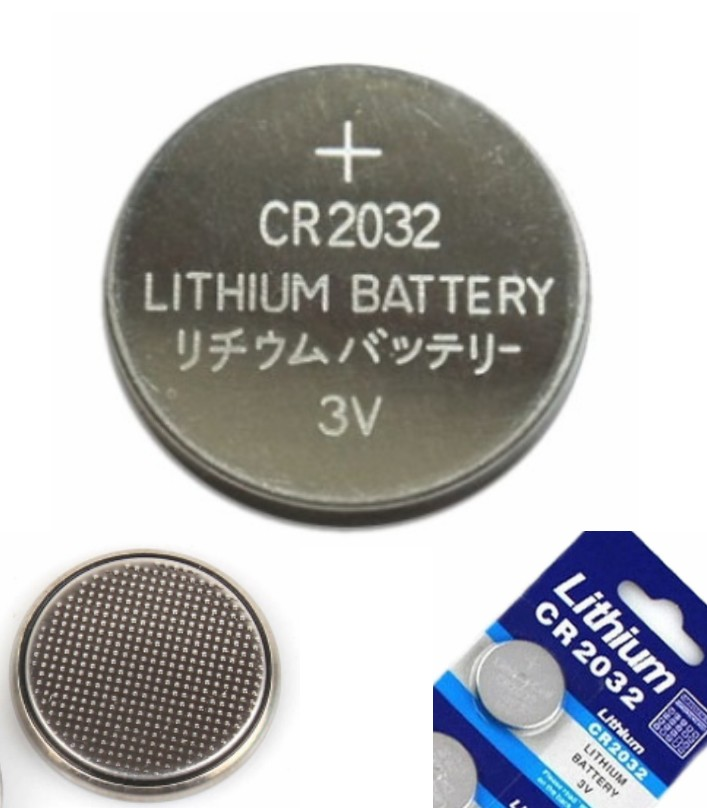 3V 250mAh CR2032 Coin Cell Battery 20mm
