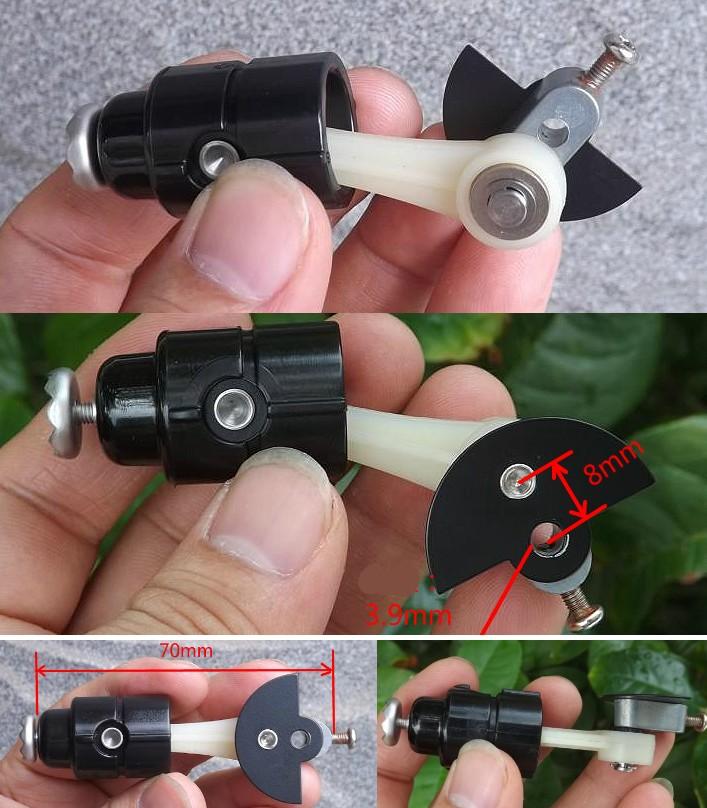 crankshaft connecting rod model DIY production