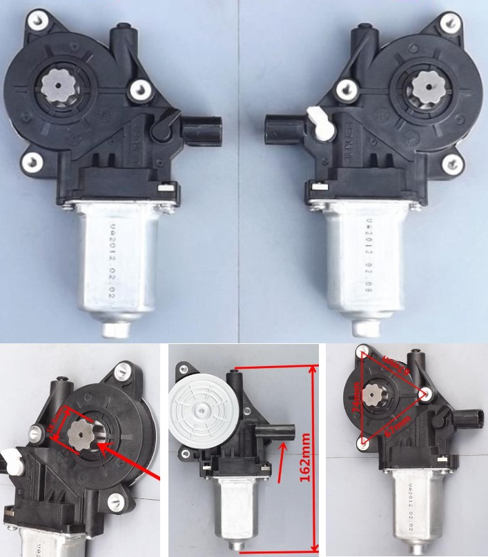 Left+Right window lifting motor DC12V High torque