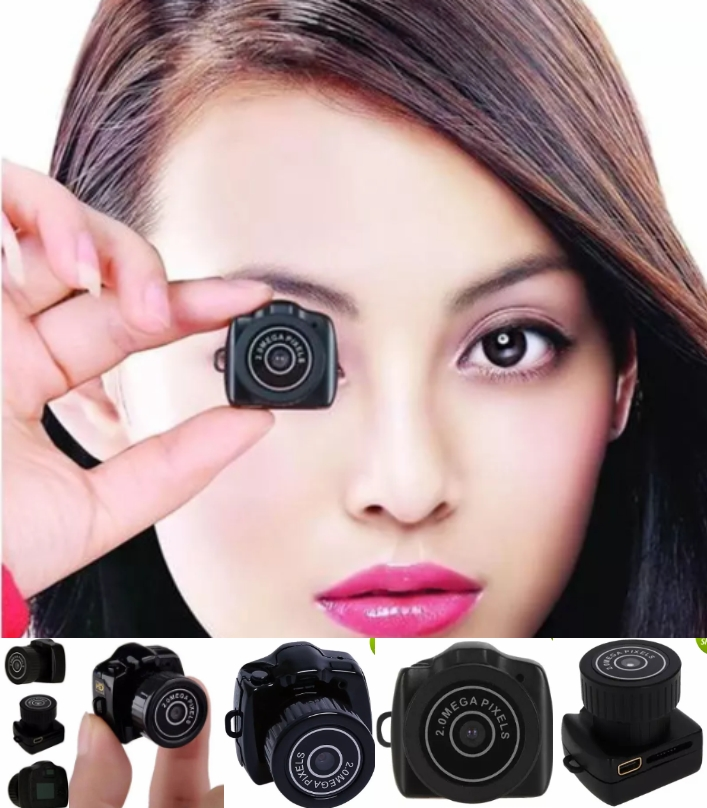 Y2000 Smalles HD 480P Webcam Mini Camera DVR Video