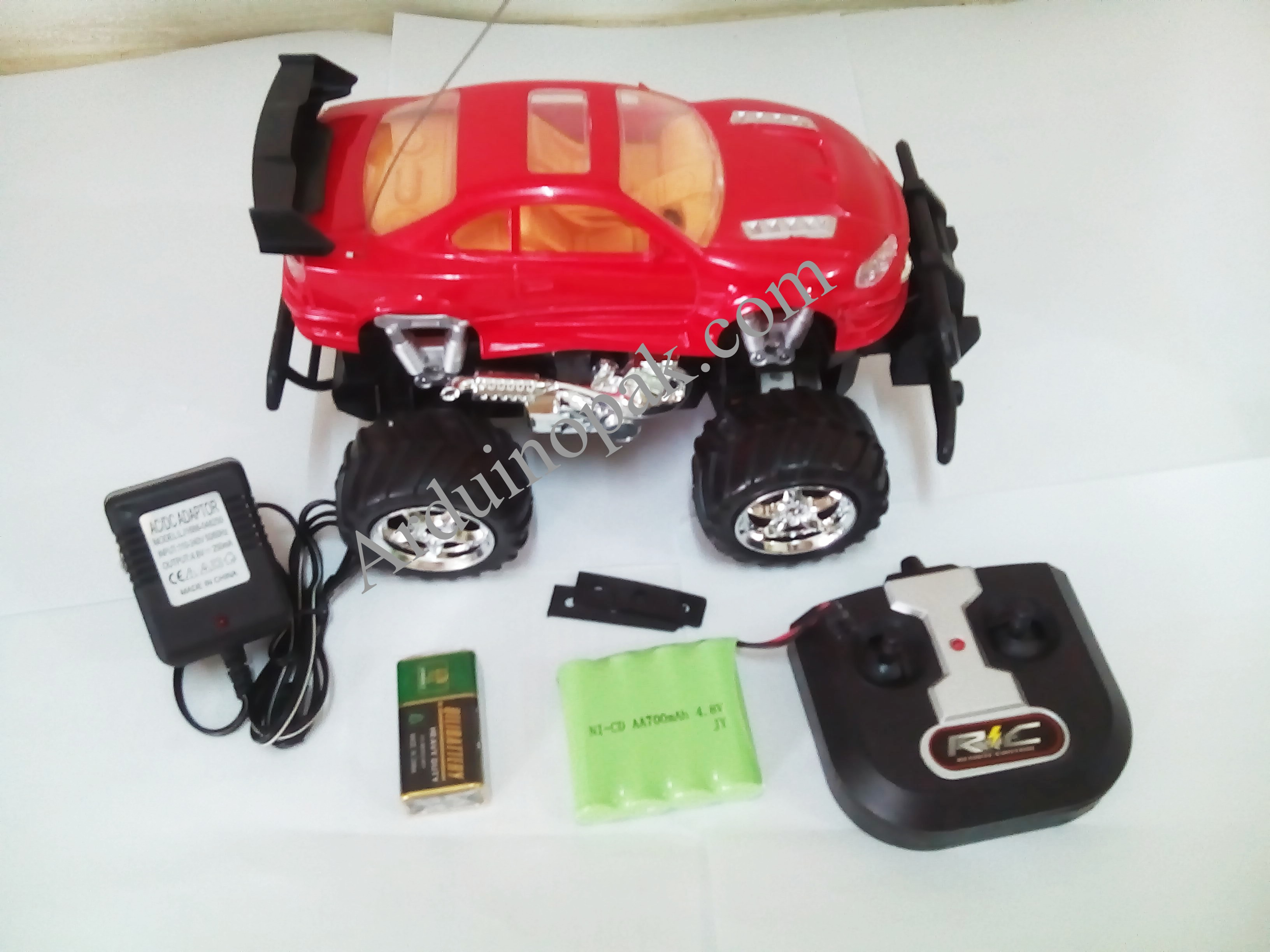4 chanel rc suv car, 27 MHz, with battery ,Adapter