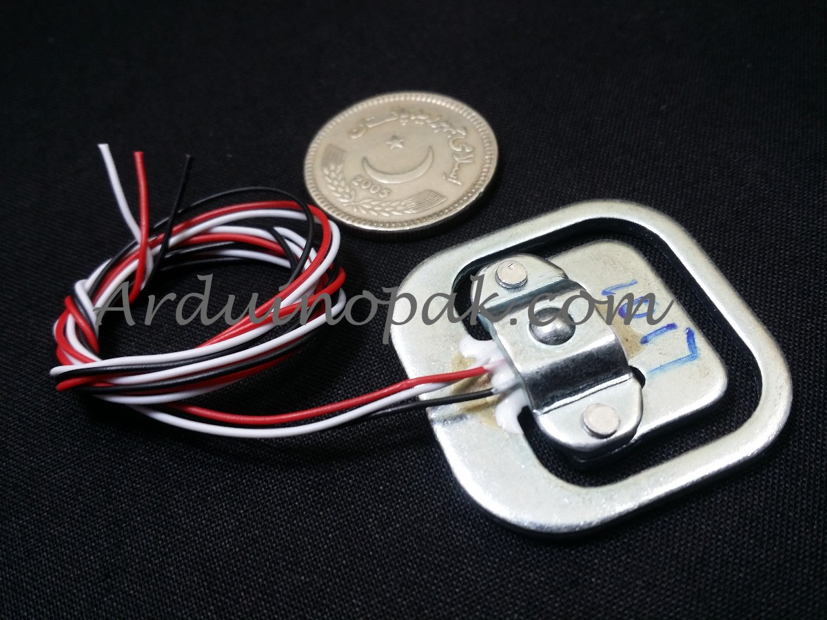 DIY 50Kg Body Load Cell Weighing Sensor Resistance