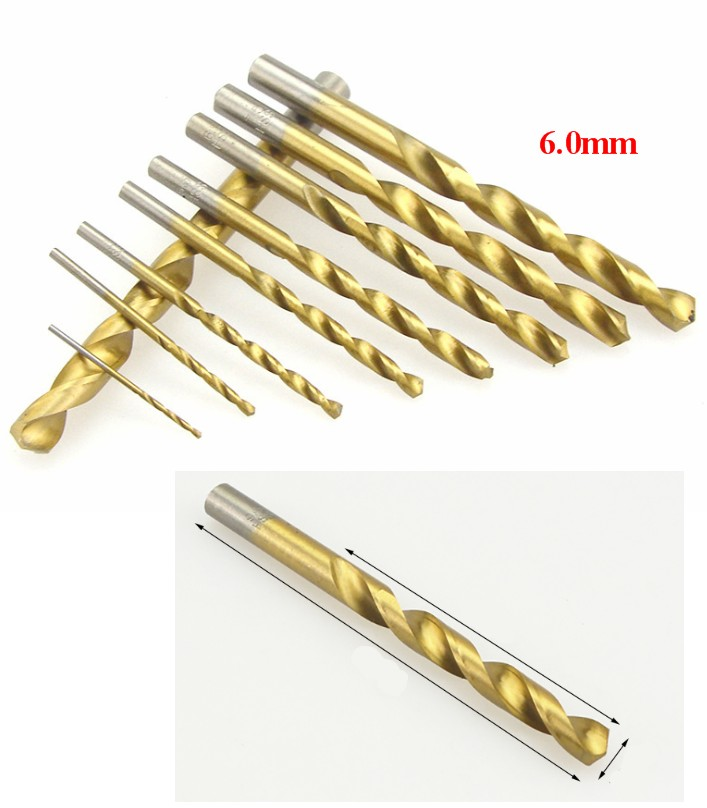 6.0mm stainless steel drill bit high speed