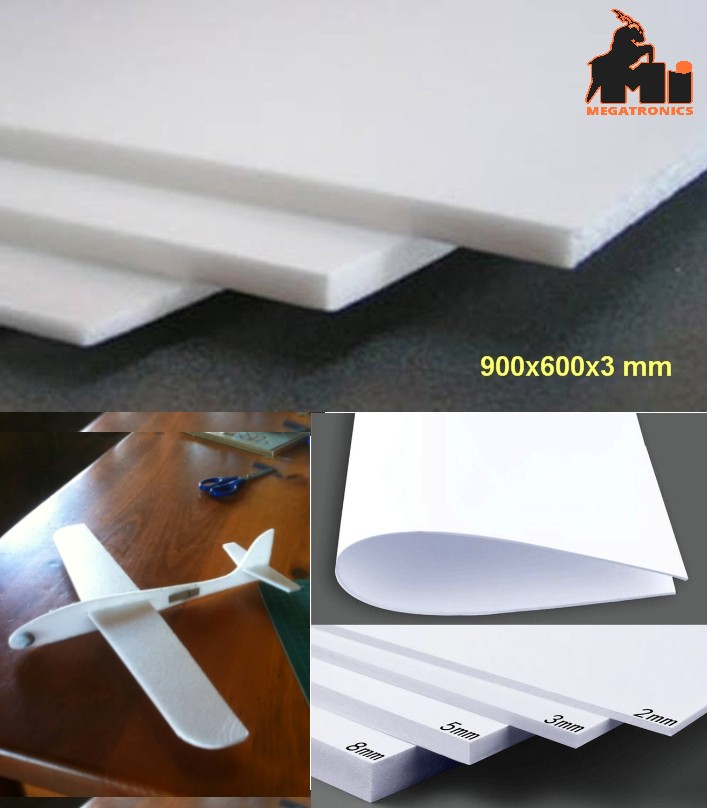 3*900*600mm F3P depron foam aircraft model materia