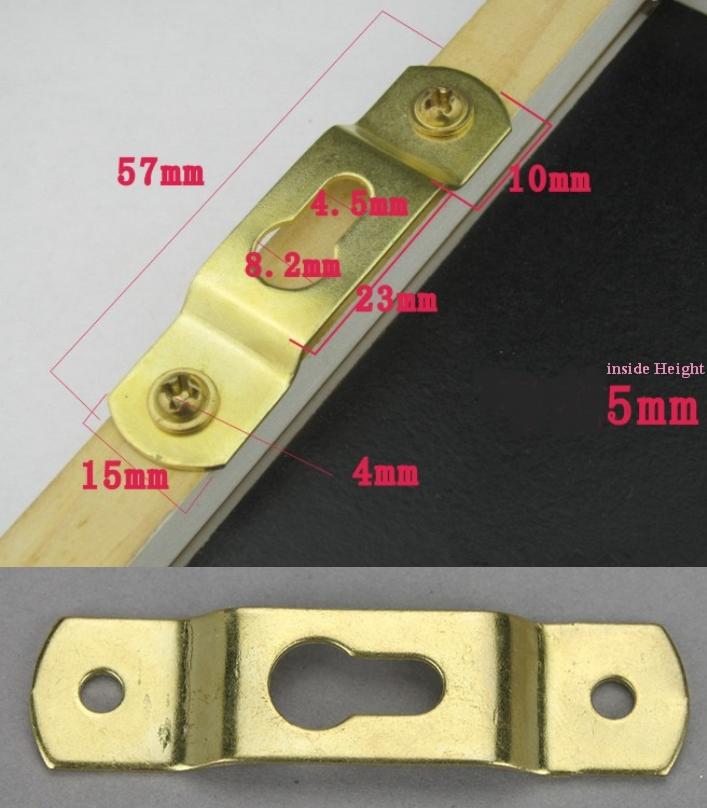 dark hanging hardware bracket hook arch fastner