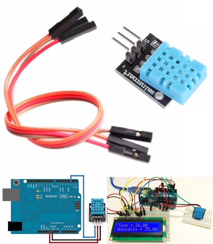 DHT11 Relative Temperature Humidity Sensor Module