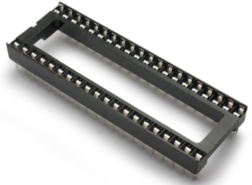 40 Pin DIL DIP IC Socket .8 inch wide