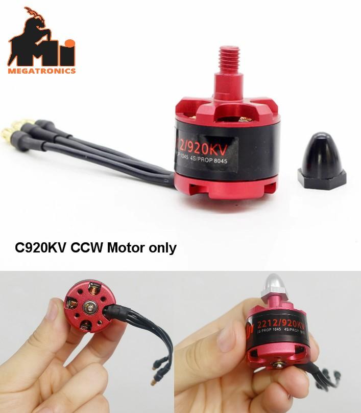 DJI CCW 2212 920KV Brushless Motor Self-locking F330 F450 F550 FPV Drone