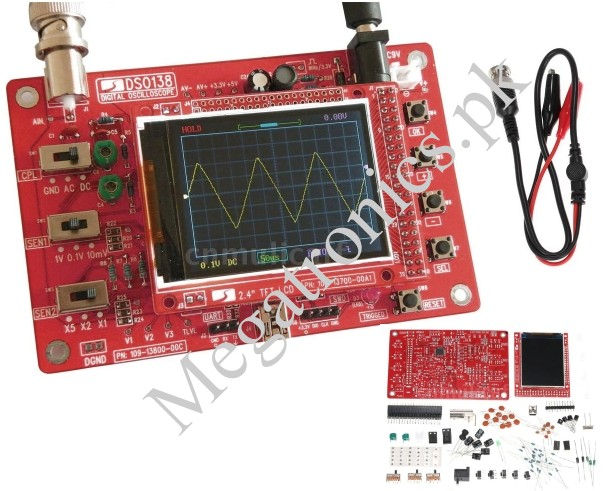 DSO138 Handheld Pocket Digital Oscilloscope Kit
