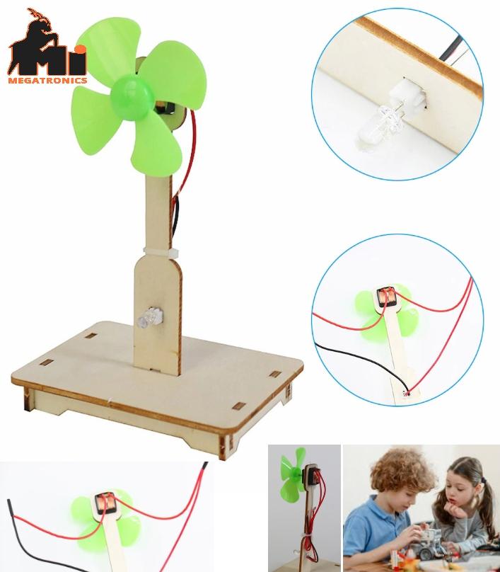 DIY Wind Power Generation science Kit STEM toy