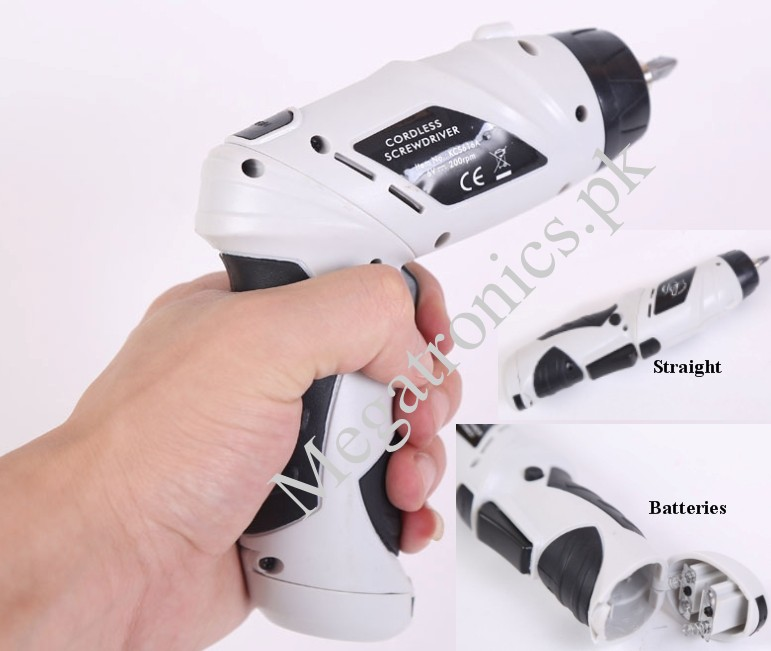 Cordless drill Reversible Electric Screw driver