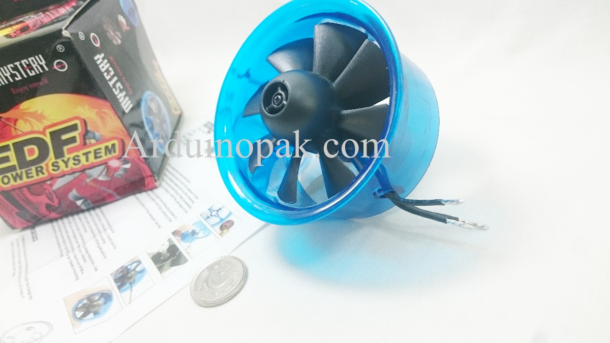 EDF electric ducted fan 70mm with HL7008 3900KV Br
