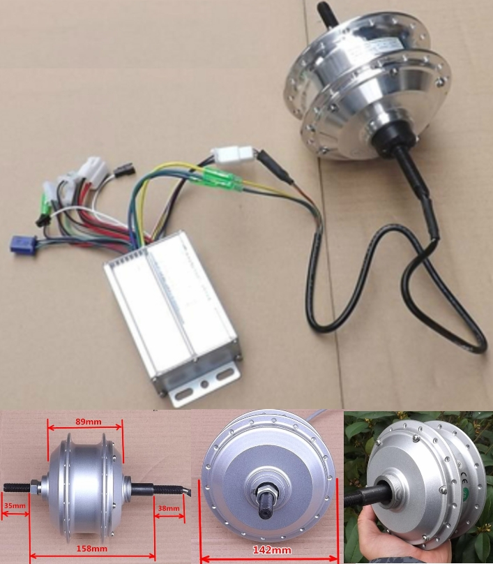 Bicycle DC36V Electric Motor and Controller 220W B