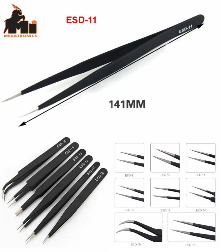 Vetus ESD-11 tweezer Heat Resistant anti static