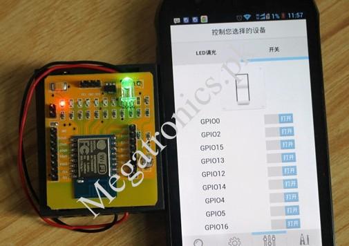 ESP8266-12 IOT Devolpment SDK android  WIFI
