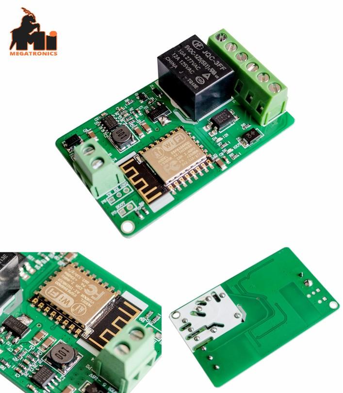 ESP8266 WIFI Relay Network Relay