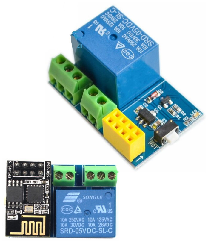 WiFi ESP8266 ESP-01S Relay module smart socket
