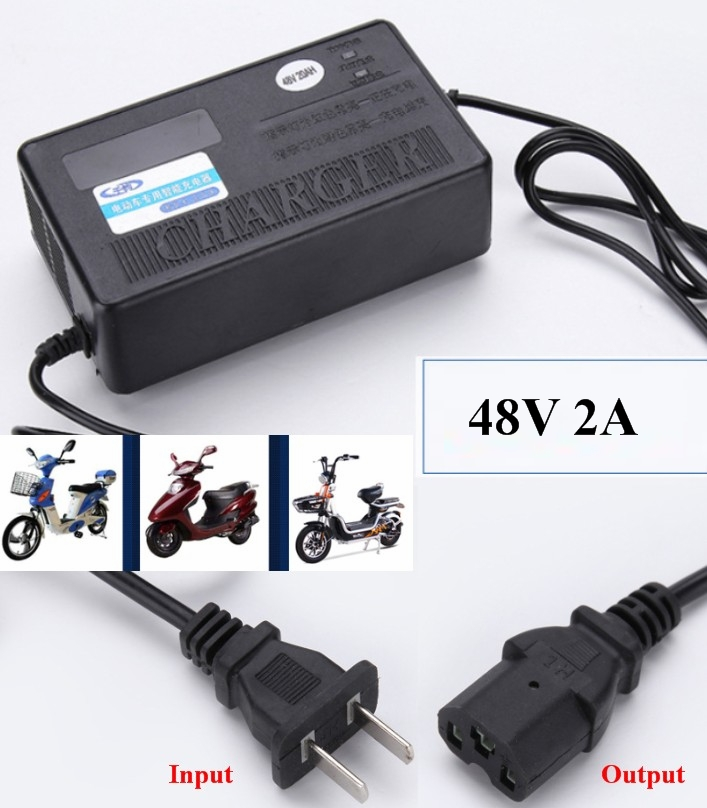 Ebike Electric bicycle charger 48V 2A Deep Cycle