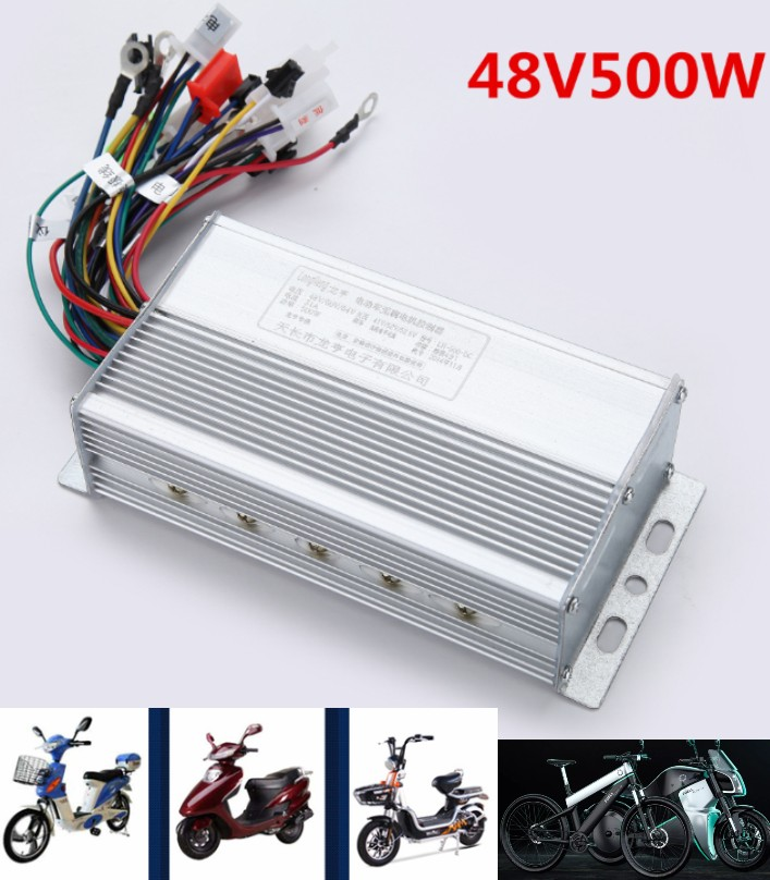 48v 500w Brushless Motor Controller Speed E-bike