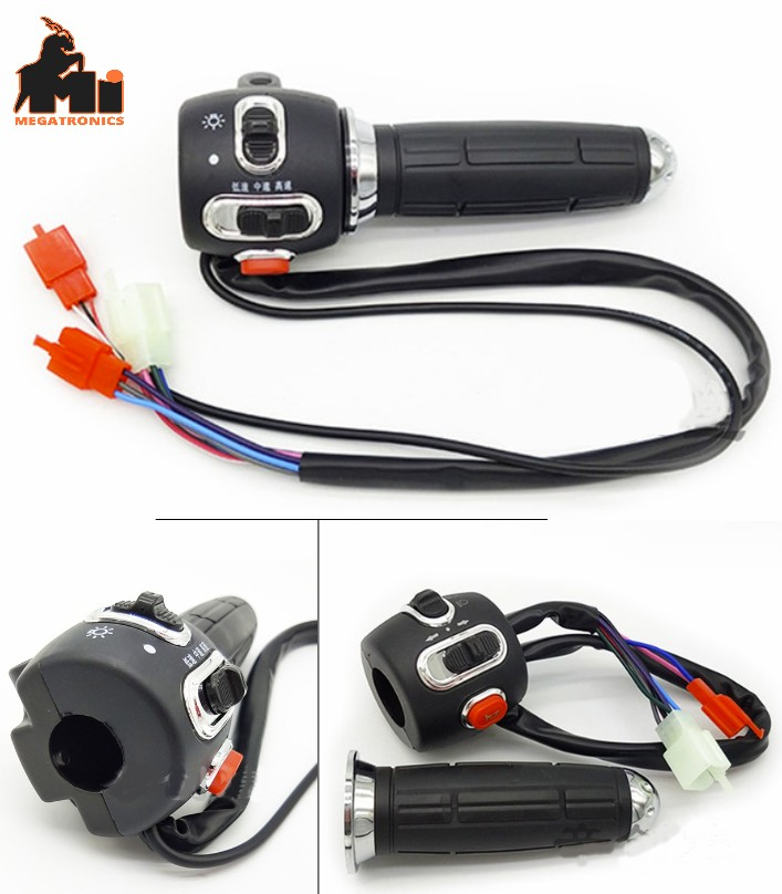 7th gen Electric vehicle throttle electric motorcycle handle EVER+SWITCH+THROTTL