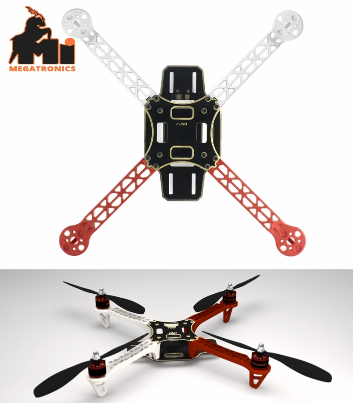 DJI F330 Glass Fiber Mini Quadcopter Frame 330mm chassis
