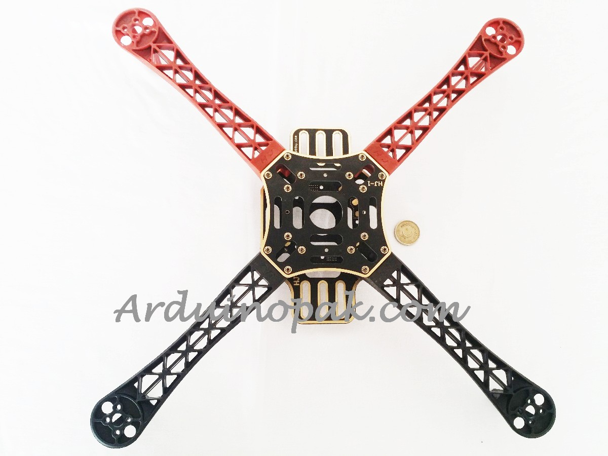F450 Quadcopter 4 Axis multi copter Frame Red Blac