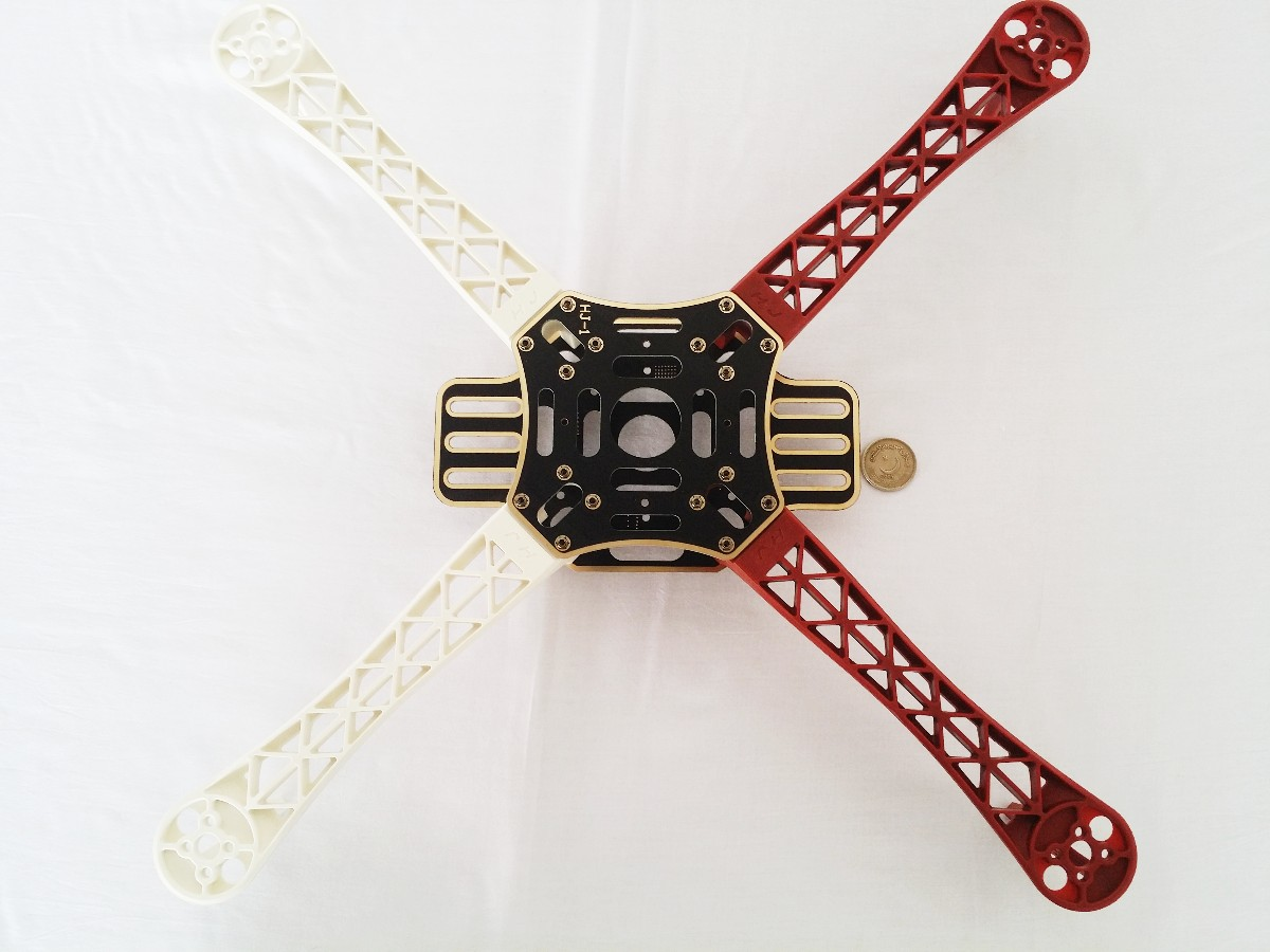 F450 Quadcopter 4 Axis quad copter Frame Red White