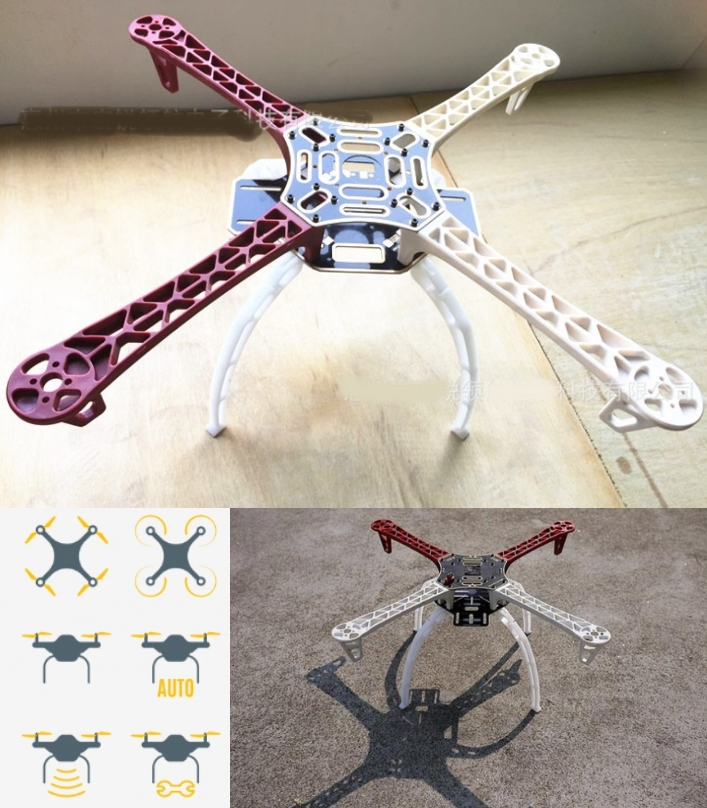 F450 V2 Quadcopter 4 Axis Frame with Landing gear