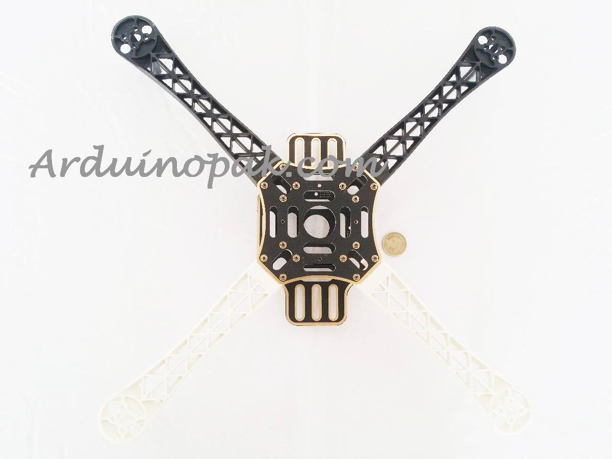 F450 Quadcopter 4 Axis Frame White & black chassis