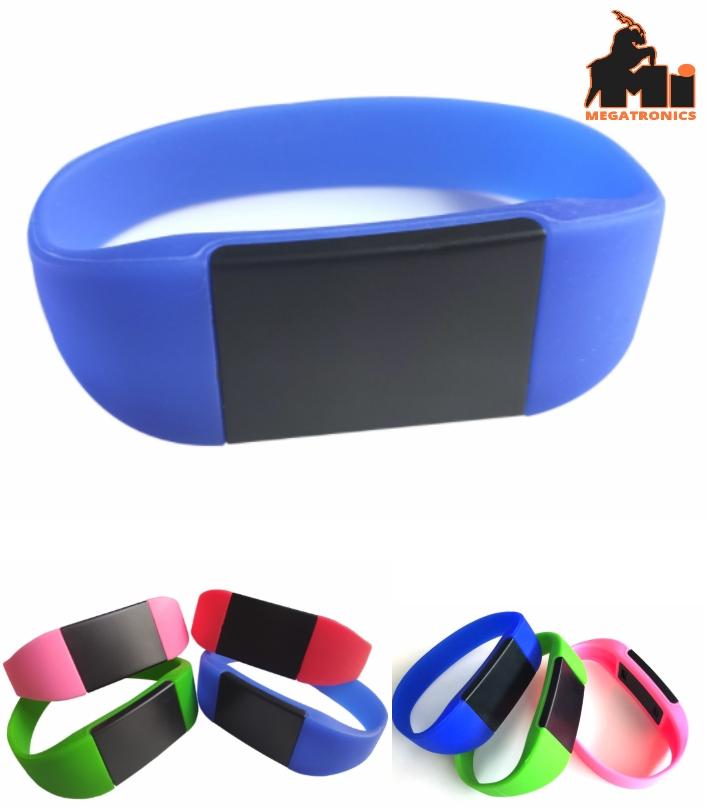 Fudan NFC IC 125khz bracelet rfid ID school