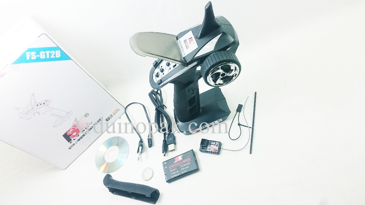 Flysky FS-GT2B 2.4G 3-Channels Remote control