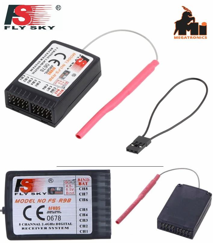 FS FlySky FS-R9B 2.4G 9 Channels Upgrade Receiver