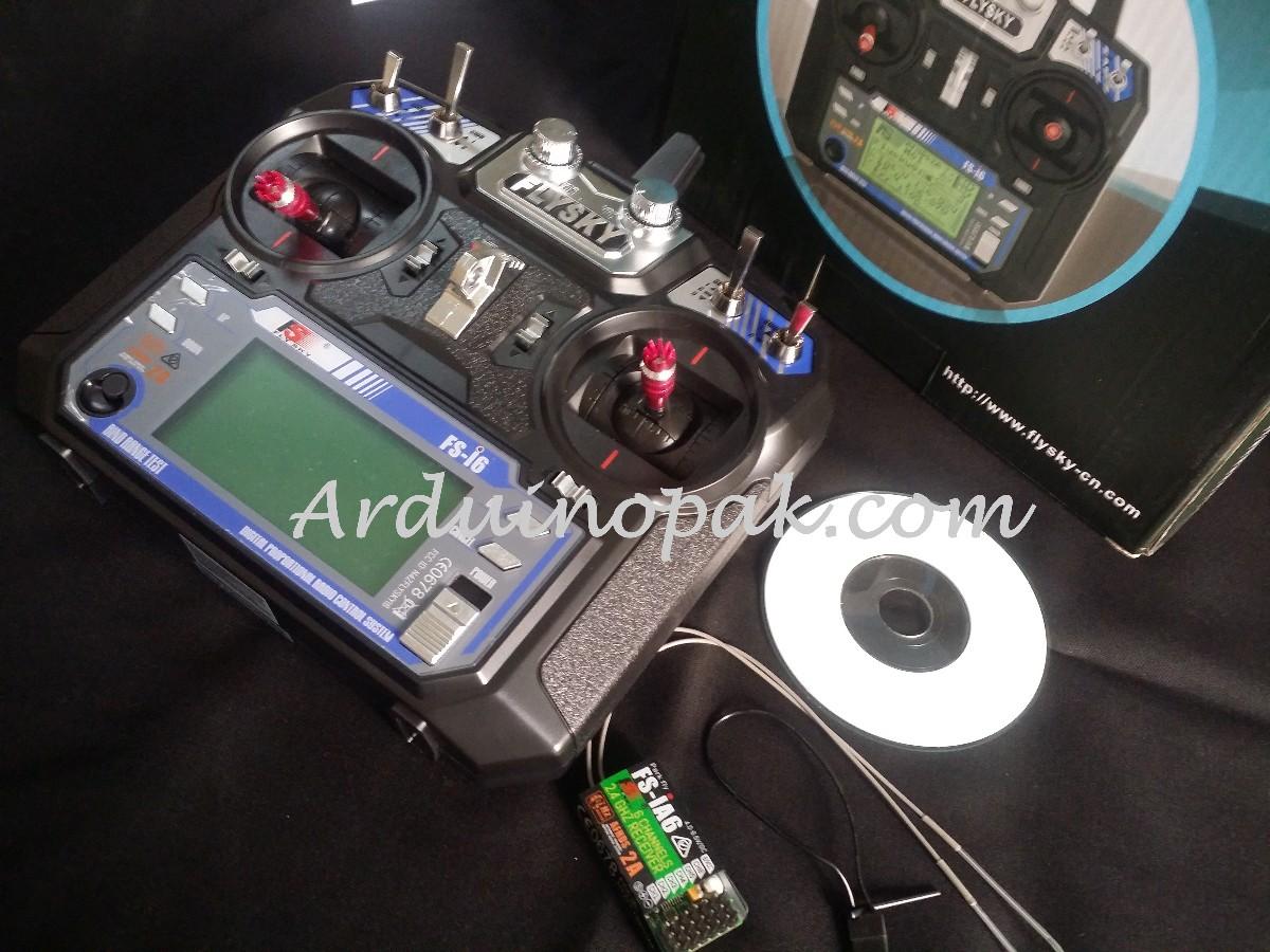 FlySky FS-i6 2.4G 6CH AFHDS RC Transmitter With FS
