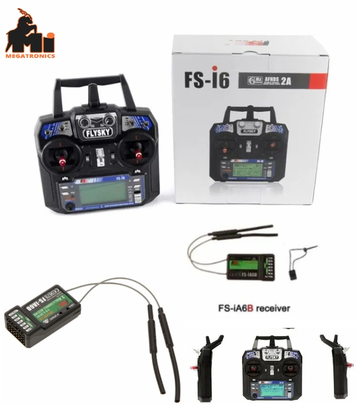 Flysky FS-i6 Transmitter FS-iA6B Receiver Digital