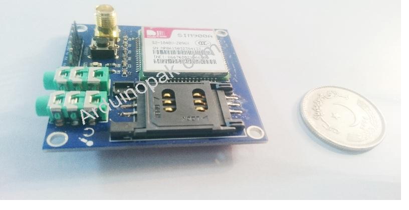 SIM900A GSM  GPRS module DTMF TTS LBS voice transm