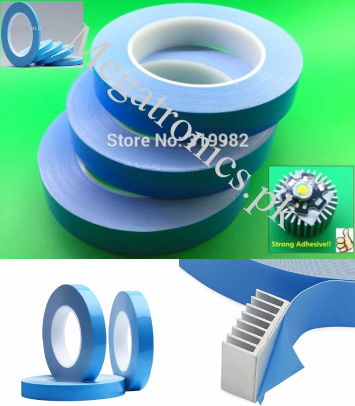 20mm Thermal Conductive Double Sided Adhesive Tape
