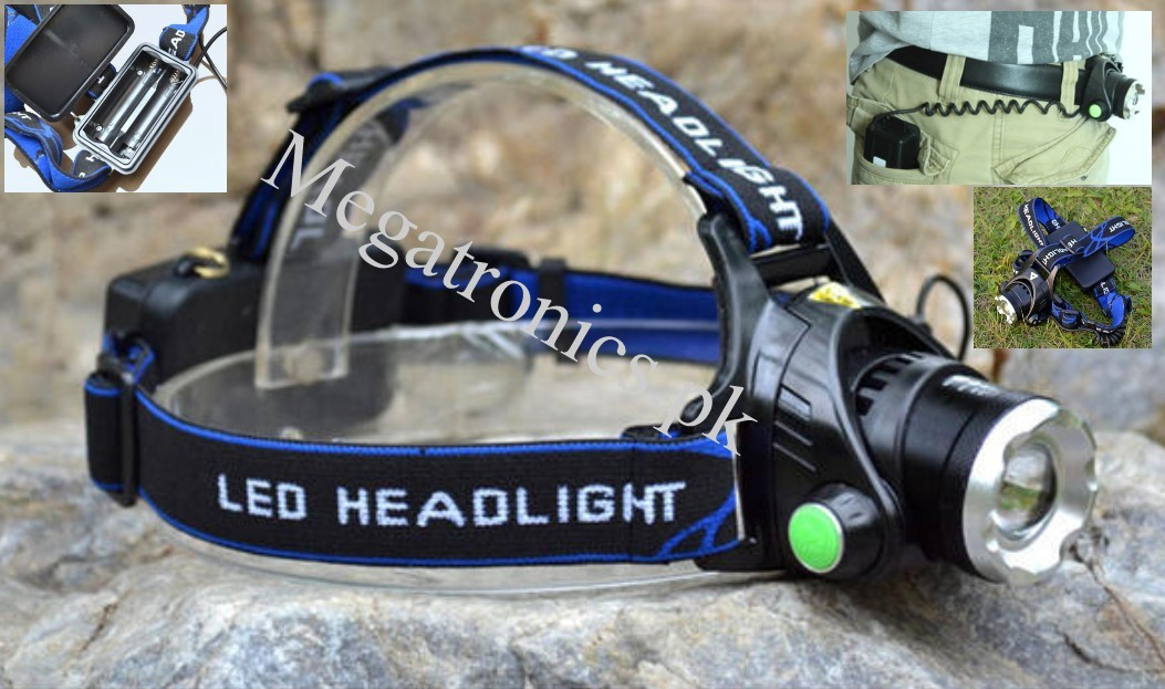 HQ 5W LED Headlight torch lamp hiking home outdoor