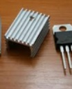 Heat sink  TO-220 15mm  for LM7806 LM317, LM338