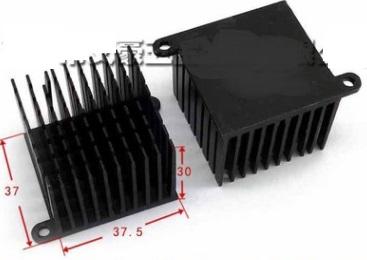 37x37.5x30mm IC Heat sink Aluminum Cooling