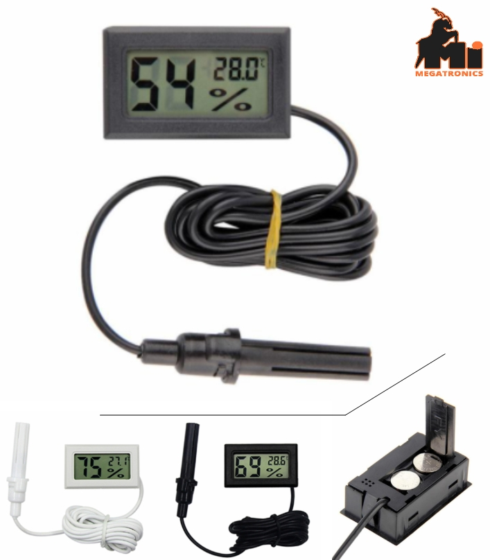 LCD Thermometer Hygrometer temperature Humidity Se