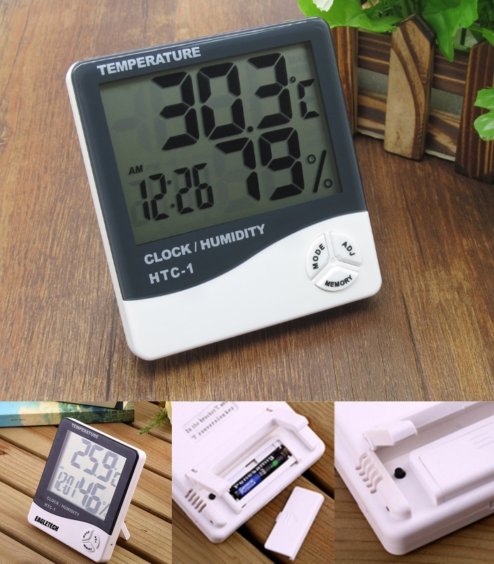 HTC-1 digital hygrometer temperature humidity